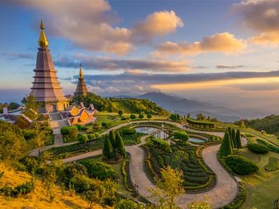 Flores  de la ruta Norte de Tailandia